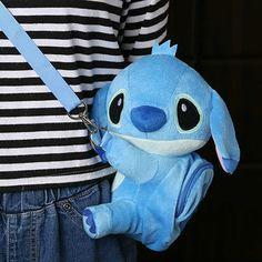 Lilo & Stitch Plush Messenger Bag - 60% off!