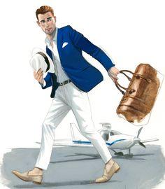 Holidays @gentleman_spain #gentleman #fashionmen #fernandovicente Boys Fashion Dress, Fashion Story, Fashion Art, Mens Fashion, Illustration Art Drawing, Fashion Illustration Sketches, Fashion Sketches, Graphic Illustration, Silhouette Mode