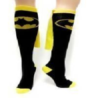 Batman Superhero Black Cape Socks:Amazon:Clothing