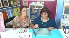 Como pintar flores - Oleo - Pinceladas de Silvia Mongelos