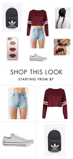 """""""Untitled #40"""" by lopezmichelle2173 on Polyvore featuring Kendall + Kylie, Converse, adidas Originals and Casetify"""