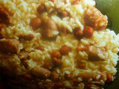risotto con salsiccia - e fagioli borlotti
