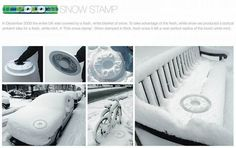 "This is good idea. You can ""print"" your ad or logo everywhere there is snow."