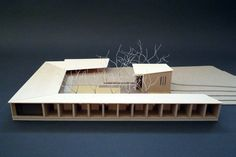 cambell hall, #architecturalmodel