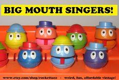 Big Mouth Singers 1970's Toy Piano #nostalgia