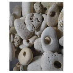 Stones with holes puzzle