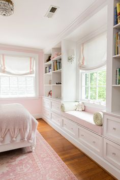 I just finished a favorite project with the most charming family. They live in a beautiful old rambling historic home in Chapel Hill that sits up on a hill. Teen Bedroom Designs, Room Design Bedroom, Room Ideas Bedroom, Home Room Design, Home Decor Bedroom, Girls Bedroom, Dream Rooms, Luxurious Bedrooms, My New Room