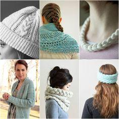 Mood Board Monday - French Braid via Tanis Fiber Arts Tanis Fiber Arts, Knit Crochet, Crochet Hats, Braided Necklace, Fishtail, Art Blog, Cowl, French Braids, Kingston