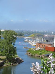 View from Suomenlinna Sea Fortress, one of my favorite places in Finland!