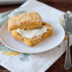 Sweet potato beer biscuit maple sage butter3