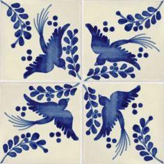 Blue Dove Talavera Mexican Tile