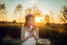 Sunset Flowers by FatihKurut