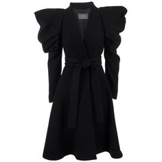 MCQ BY ALEXANDER MCQUEEN QK06200T6406 BLACK VERGIN... ($1,200) ❤ liked on Polyvore
