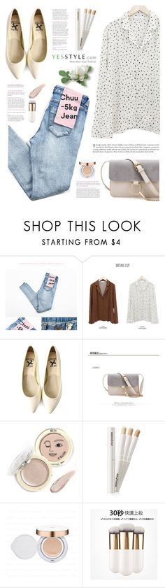 """YesStyle Polyvore Group "" Show us your YesStyle """" by yexyka ❤ liked on Polyvore featuring chuu, Beauty and yesstyle"