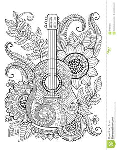 Coloring Page Adult Antistress Relax Meditation Zentangle Coloring Pages Free Adult Coloring Pages, Mandala Coloring Pages, Colouring Pages, Coloring Sheets, Coloring Books, Beach Coloring Pages, Kids Coloring, Free Coloring, Doodle Art Drawing