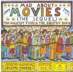 1994 Mad About The Movies (The Sequel) [Deutsche Grammophon 445773-2] cover illustrations: Roz Chast #albumcover