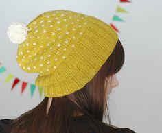 Bespeckled Hat by Dull Roar Pattern Knitting Books, Knitting Projects, Crochet Projects, Start Knitting, Knitting Supplies, Crochet Pattern, Knit Crochet, Knitting Patterns, Crochet Hats