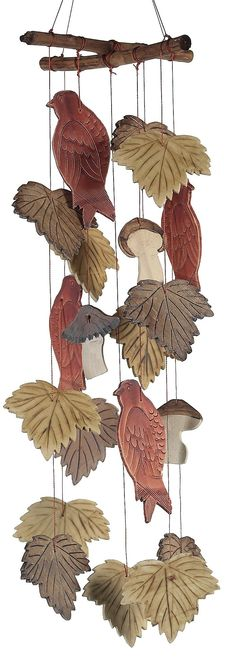 Caramba Windchime Nature Trail Design, 28-Inch Design (Discontinued by Manufacturer)
