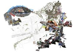 Enric Miralles Collage Postgraduate diploma