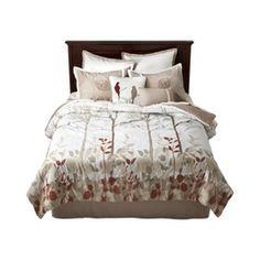 Tanblue bedding set httpwwwtargetcompHome 8 Piece Bed