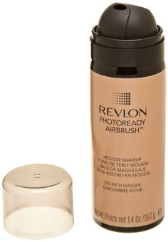 REVLON Photoready Airbrush Mousse Makeup Rich Ginger 14 Ounce ** Details can be found by clicking on the image.