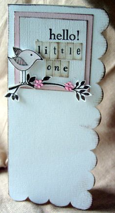 hello little one card by julie21566
