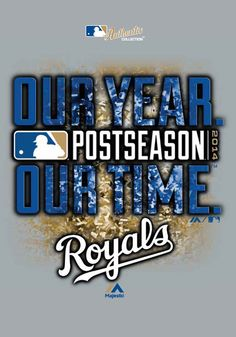 Kansas City Royals T-Shirt - Grey Kansas City 2014 Division Series Winner Short Sleeve Tee