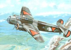 On 10 May 1940, Germany invaded the Netherlands, Belgium and Luxembourg. The T.V saw its first combat, when taking off from Schiphol to avoid air attack, eight T.Vs encountered a formation of German bombers, shooting down two.[7] After this, the T.V reverted to its primary bomber role, being used in attacks against German airborne troops landing at The Hague and Rotterdam. By the end of the first day of fighting only two T.Vs were servicible, being sent against bridges over the River Maas .