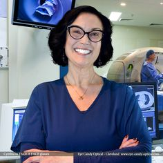 Cynthia is saving lives in her new designer glasses by Face a Face. Eye Candy is saving Fashion with the finest European Eyewear! Eye Candy Optical Cleveland – The Best Glasses Store! (440) 250-9191 - Book an Eye Exam Online or Over the Phone  www.eye-candy-optical.com