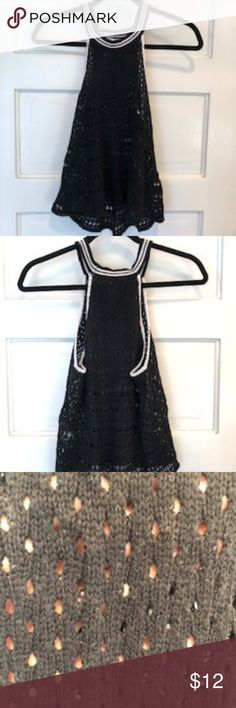 Victoria's Secret Crochet Swim size S/P NWOT Beautiful flouncy swim cover tank. Soft and comfortable. This has never been worn Hits at the hip Feel free to ask questions Offers Welcome! Swim Cover, Cover Up, Muscle Tees, Victoria Secret Swim, Fashion Tips, Fashion Design, Fashion Trends, Two Piece Skirt Set, Swimming