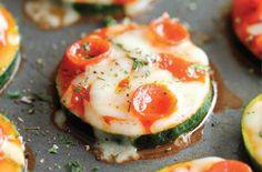 Bocconcini di zucchine a pizza
