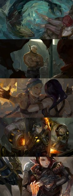 [LoL] champs compilation 8 by zuqling.deviantart.com on @DeviantArt
