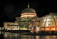 San Francisco Conservatory of Flowers.. asleep inside are thousands of flowers the likes of which you had never seen.