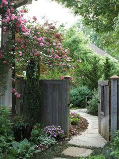 Pathway to Garden Oasis