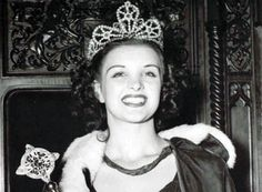 Venus Ramey when she was crowned Miss America in 1944. I happen to know this woman personally!