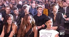 BUT LOOK HOW DISGUSTED NIALL LOOKS AND HOW HARD HE'S TRYING TO HIDE IT AND LIAM LOOKS STRAIGHT UP SHOCKED AND HARRY IS WATCHING IT LIKE A TRAIN WRECK AND ZAYN'S JUST TOTALLY DONE AND LOUIS IS JUDGING HER AND PAUL IN THE BACK POOR INNOCENT BOYS IM SORRY YOU HAD TO SEE THAT. WAS SHE DRUNK OR SOMTHING?