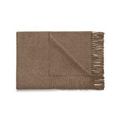 Acne Studios Canada beige melange is a fringed scarf made in soft warm wool.
