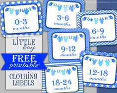 Free Printable Clothes Drawer Labels For Kids Dressers