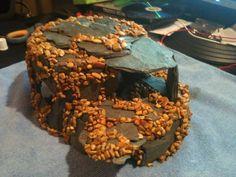 DIY Refuge Caves - Ideas? | Aquarium Forum Diy Aquarium, Aquarium Decorations, Cd Cases, Coconut Shell, Pvc Pipe, Terracotta Pots, Caves, Fish Tanks, Crafting