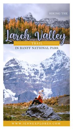 The Larch Valley Trail hike in Banff National Park is an absolute must-do. Here's your complete guide to hiking Larch Valley Trail!