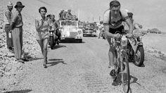Tour de France 1955. 11^Tappa, 18 luglio. Marsiglia > Avignon. Mont Ventoux. Louison Bobet (1925-1983)