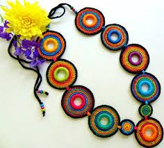 Resultado de imagem para bijuterias de crochê