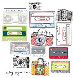 Illustration mixtapes-sallypayne