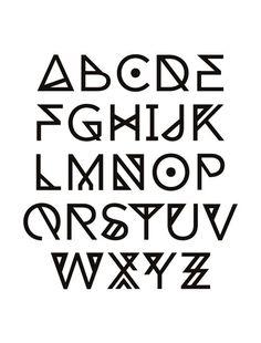 cool fonts alphabet - Buscar con Google