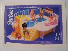 Barbie Trading Card 1981 Barbie Dream Pool Playset   eBay