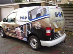 reclame op zwarte bestelwagen - Google zoeken