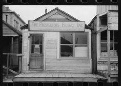 "1. ""Prospector grub store. Goldfield, Nevada."""