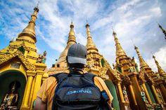El #myanmartrip llega a su fin con escala en Bangkok. Hora de empacar nuestras mochilas @DakineNews. #mochileros