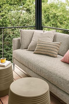 Modern outdoor sofa Modern Outdoor Furniture, Modern Sofa, Accent Furniture, Outdoor Cushions, Outdoor Seating, Outdoor Decor, Marine Grade Plywood, Slipcovers, Love Seat