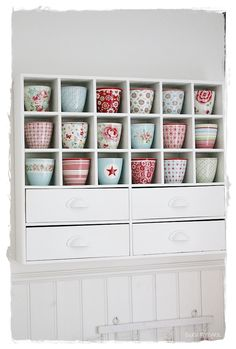 WELCOME TO INTERIOR WITH COLORS | to display my GreenGate in the kitchen?